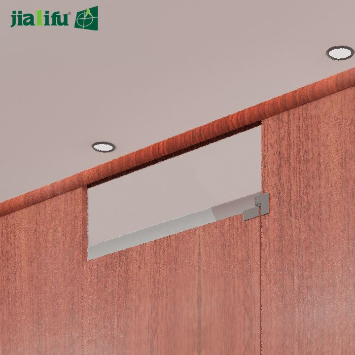Top rail: same color as panel